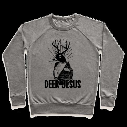 Deer Jesus Pullover