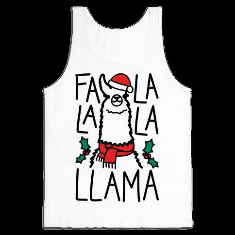 Falalala Llama Tank Top