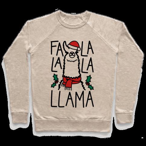 Falalala Llama Pullover