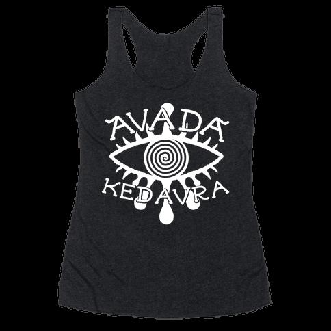 Avada Kedavra Racerback Tank Top