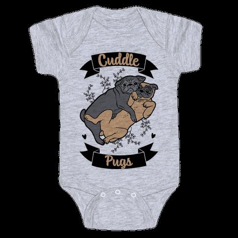 Cuddle Pugs Baby Onesy