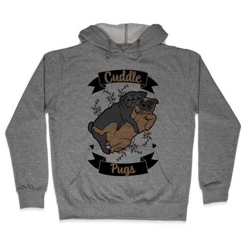 Cuddle Pugs Hooded Sweatshirt