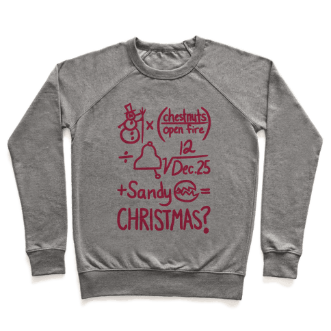 Christmas Equation Pullover