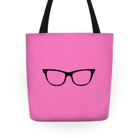 Pink Large Glasses Tote