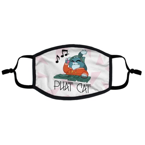 Phat Cat Flat Face Mask