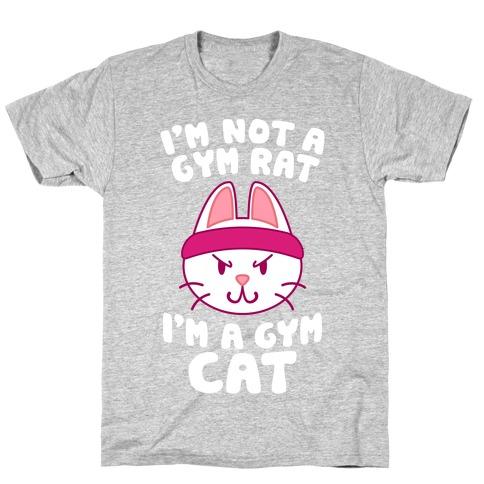 I'm A Gym Cat T-Shirt