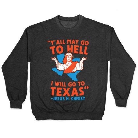 Texas Jesus Pullover