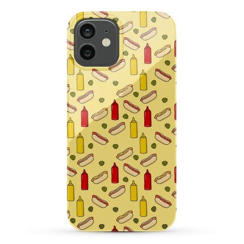 Hot Dog Pattern Phone Case