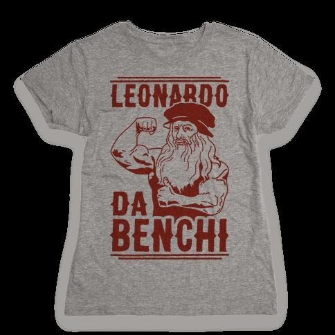 Leonardo Da Benchi Womens T-Shirt