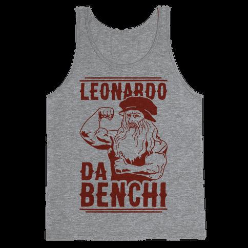 Leonardo Da Benchi Tank Top