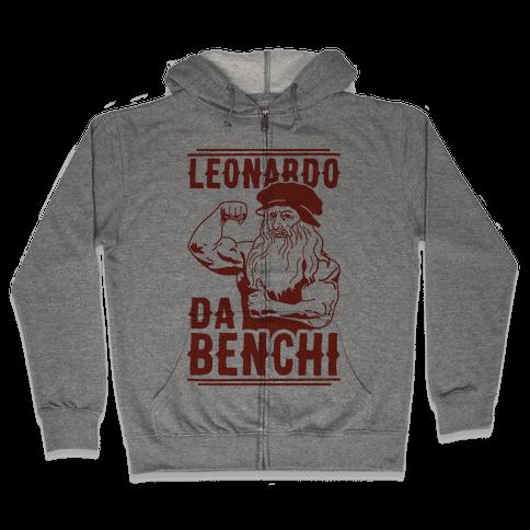 Leonardo Da Benchi Zip Hoodie