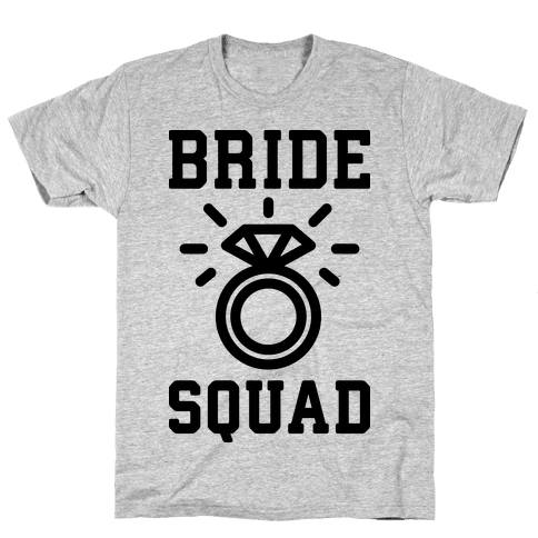Bride Squad Mens T-Shirt