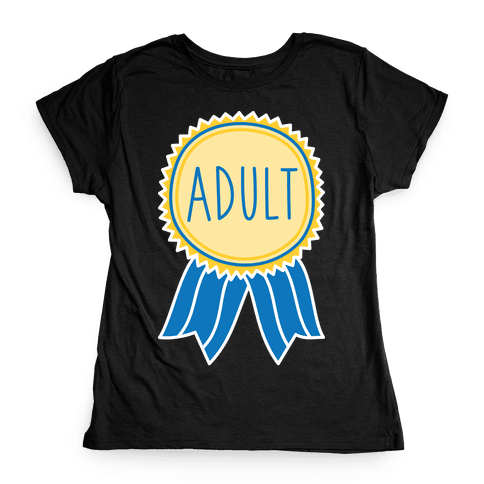 Adult Award Womens T-Shirt