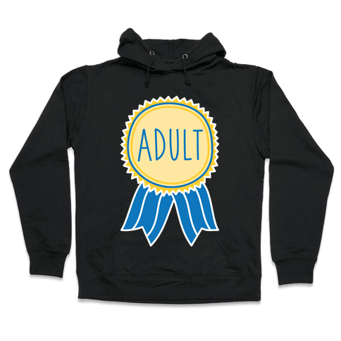Adult Award Hooded Sweatshirt