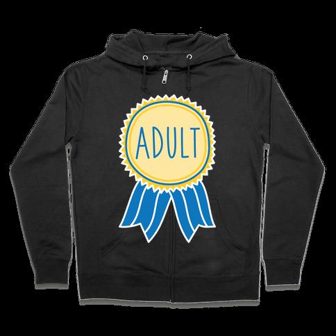 Adult Award Zip Hoodie