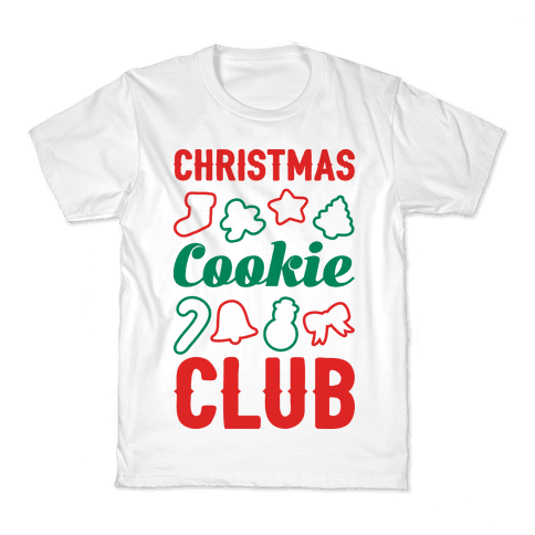 Christmas Cookie Club Kids T-Shirt