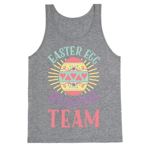 Easter Egg Hunting Team Tank Top