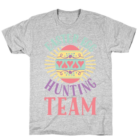Easter Egg Hunting Team T-Shirt