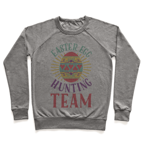 Easter Egg Hunting Team Pullover