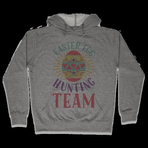 Easter Egg Hunting Team Hooded Sweatshirt