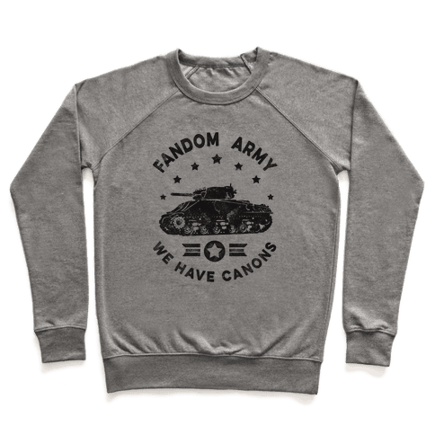 Fandom Army Pullover