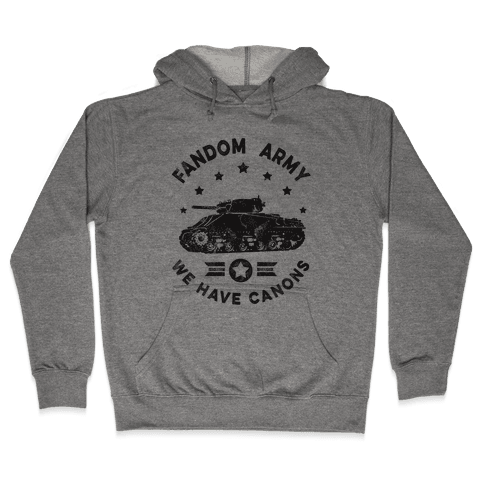 Fandom Army Hooded Sweatshirt