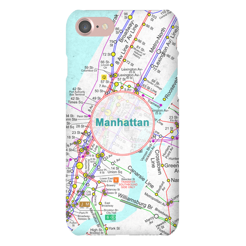 Manhattan Transit Map