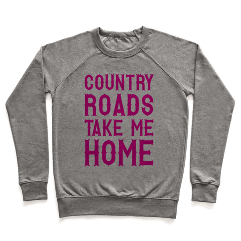 Country Roads Pullover