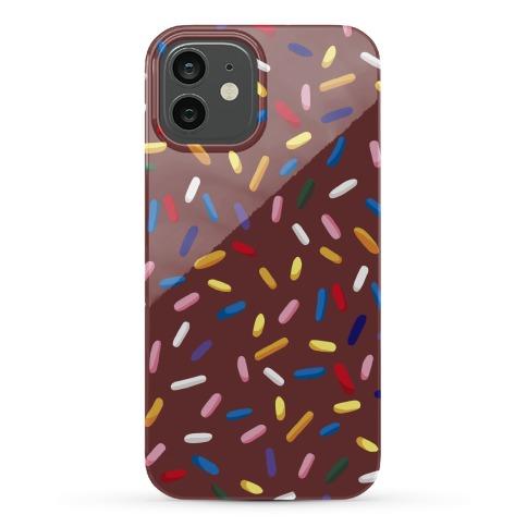 Chocolate Sprinkles Phone Case