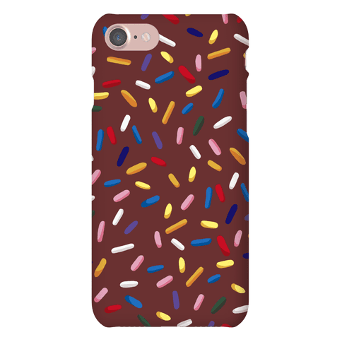 Chocolate Sprinkles Phone Case