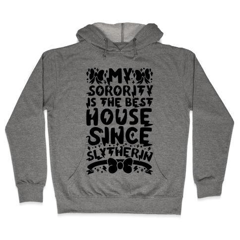 Slytherin Sorority Hooded Sweatshirt