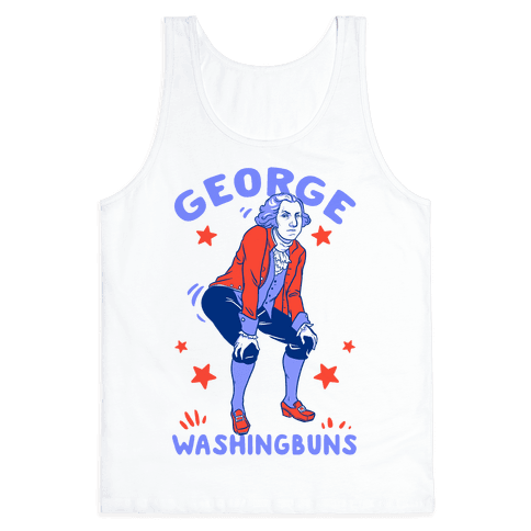 George Washingbuns Tank Top