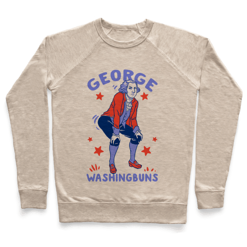 George Washingbuns Pullover