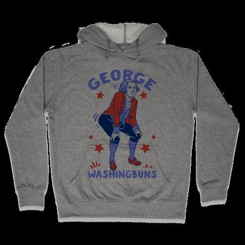 George Washingbuns Hooded Sweatshirt