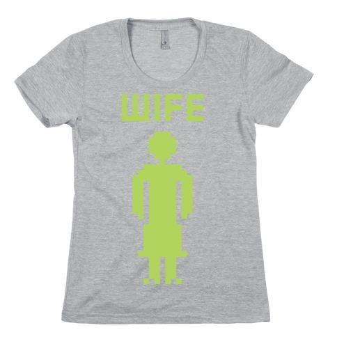 Nerd Wife Womens T-Shirt