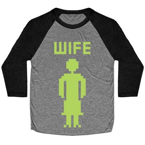 Nerd Wife Baseball Tee