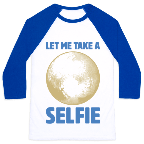 Pluto Selfie
