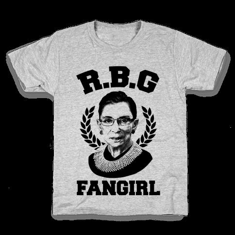 R.B.G Fangirl Kids T-Shirt