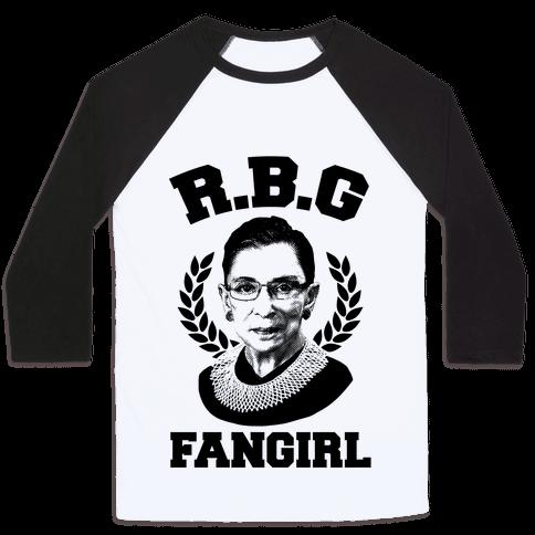 R.B.G Fangirl Baseball Tee