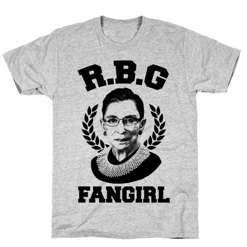 R.B.G Fangirl Mens T-Shirt