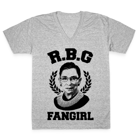 R.B.G Fangirl V-Neck Tee Shirt