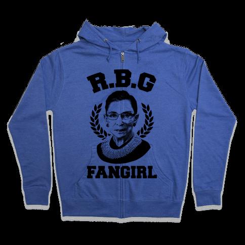 R.B.G Fangirl Zip Hoodie