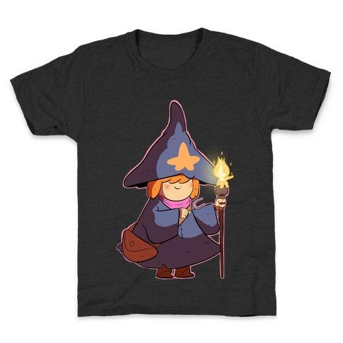 Wizard Girl Kids T-Shirt