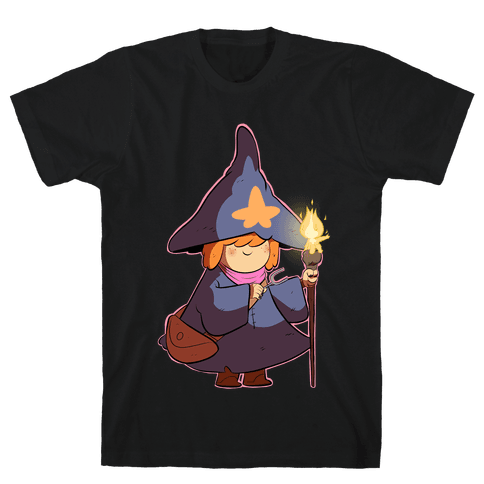 Wizard Girl Mens T-Shirt