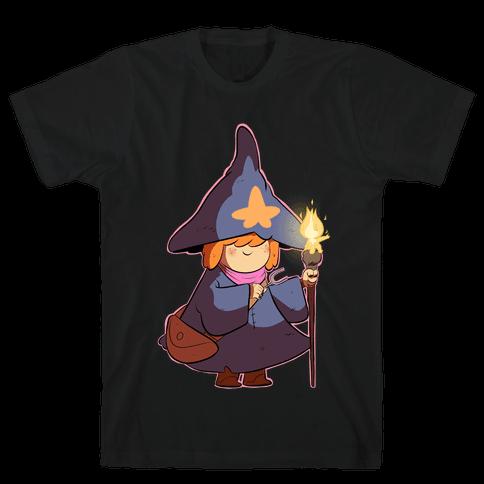 Wizard Girl Mens T-Shirt