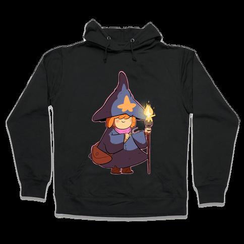 Wizard Girl Hooded Sweatshirt