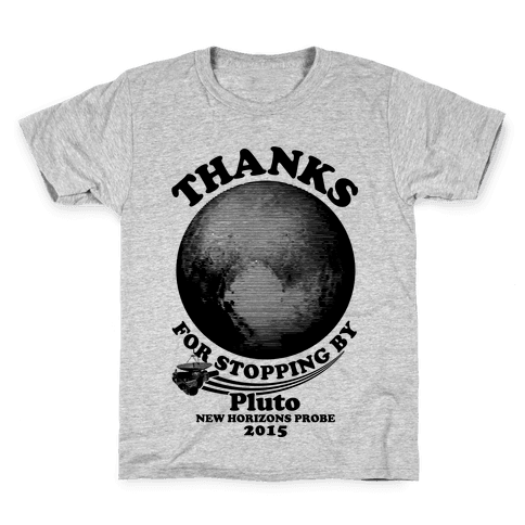 Pluto New Horizons Probe Kids T-Shirt