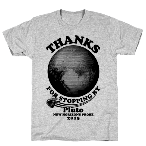 Pluto New Horizons Probe Mens T-Shirt