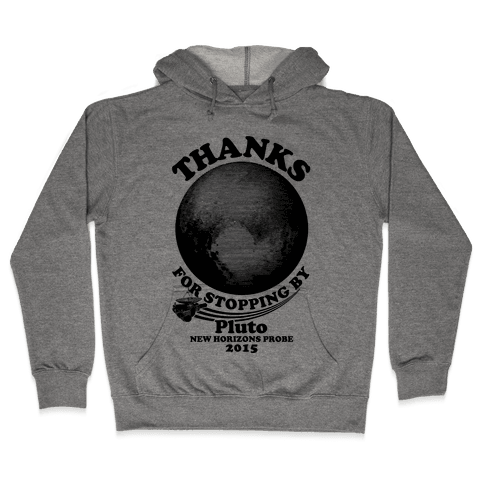 Pluto New Horizons Probe Hooded Sweatshirt