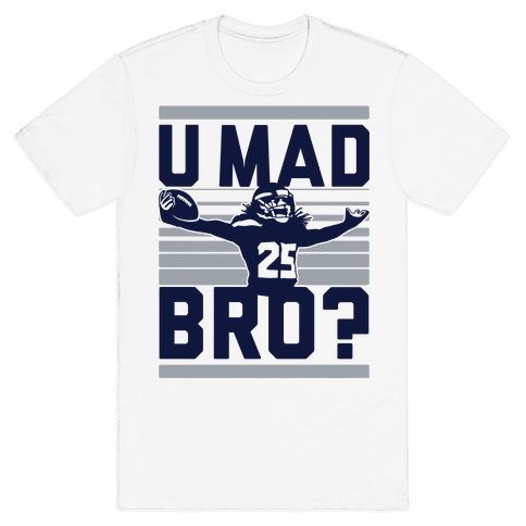 U Mad Bro? Mens T-Shirt
